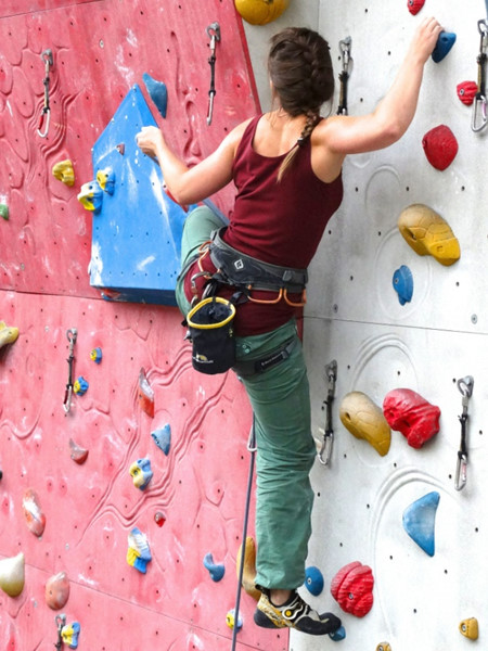 Image of rock climber